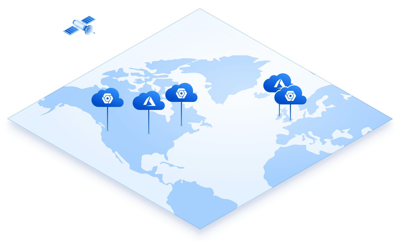 Google Cloud Platform and Microsoft Azure